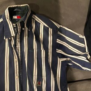 Striped Tommy Hilfiger Button Down SS